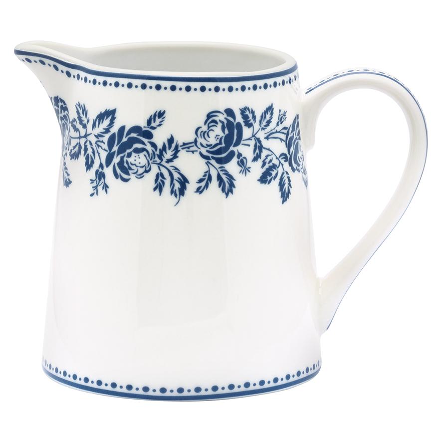 greengate krug fleur blue