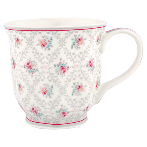 GreenGate Teetasse Daisy Pale Grey