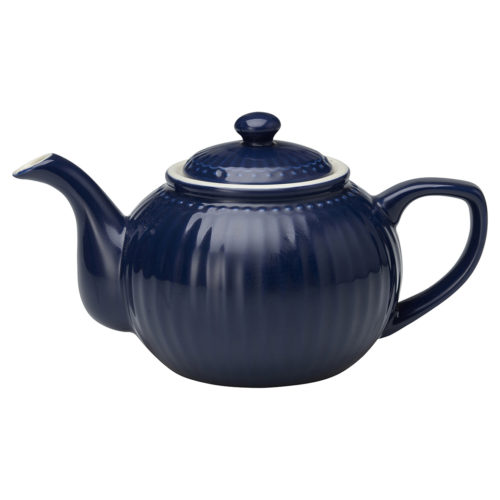 GreenGate Teekanne Alice Dark Blue