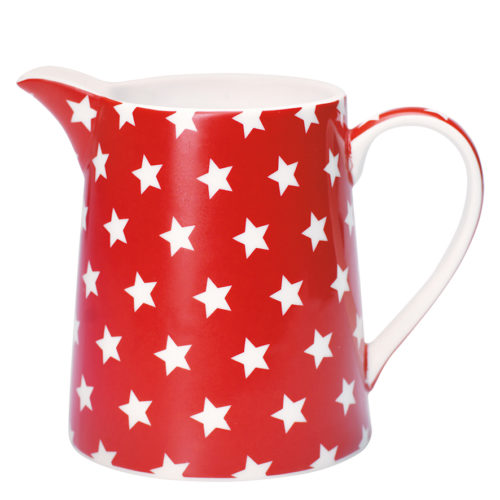GreenGate Krug Star Red