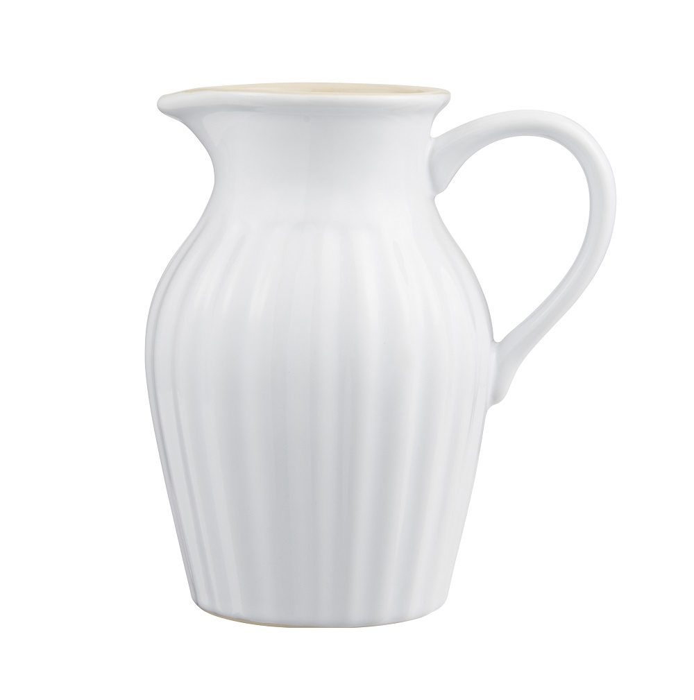 IB LAURSEN Mynte Krug mit Henkel Pure White