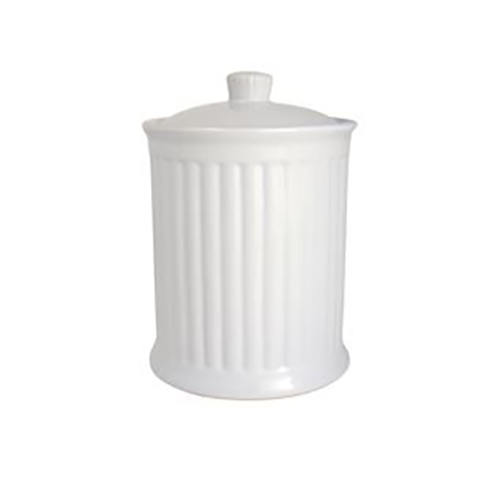 IB LAURSEN Mynte Krug mit Deckel Pure White Small