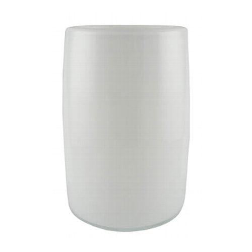 KAHEKU Vase Maras Weiß 20 cm Höhe