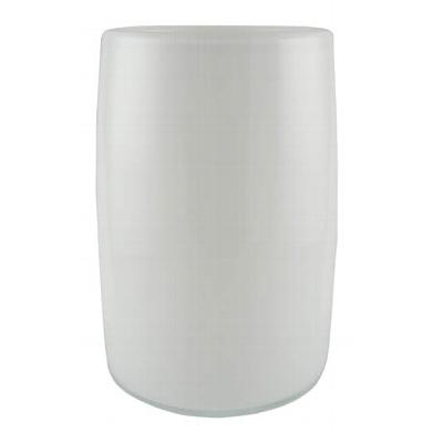 KAHEKU Vase Maras Weiß 25 cm Höhe