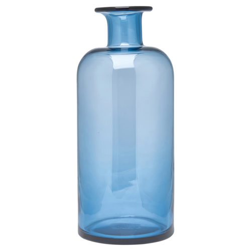 greengate vase amanda dark blue