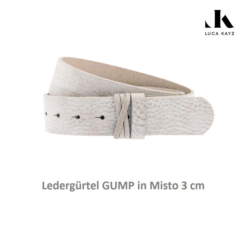LUCA KAYZ Gürtel Gump Misto 3 cm