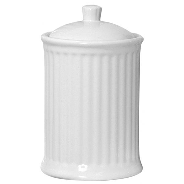 IB LAURSEN Mynte Krug mit Deckel Pure White Medium
