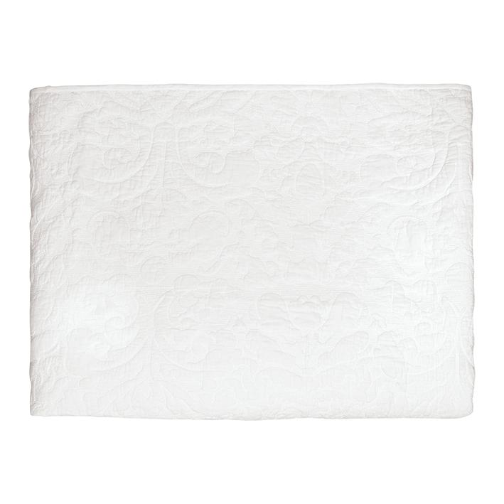 greengate quilt plain white