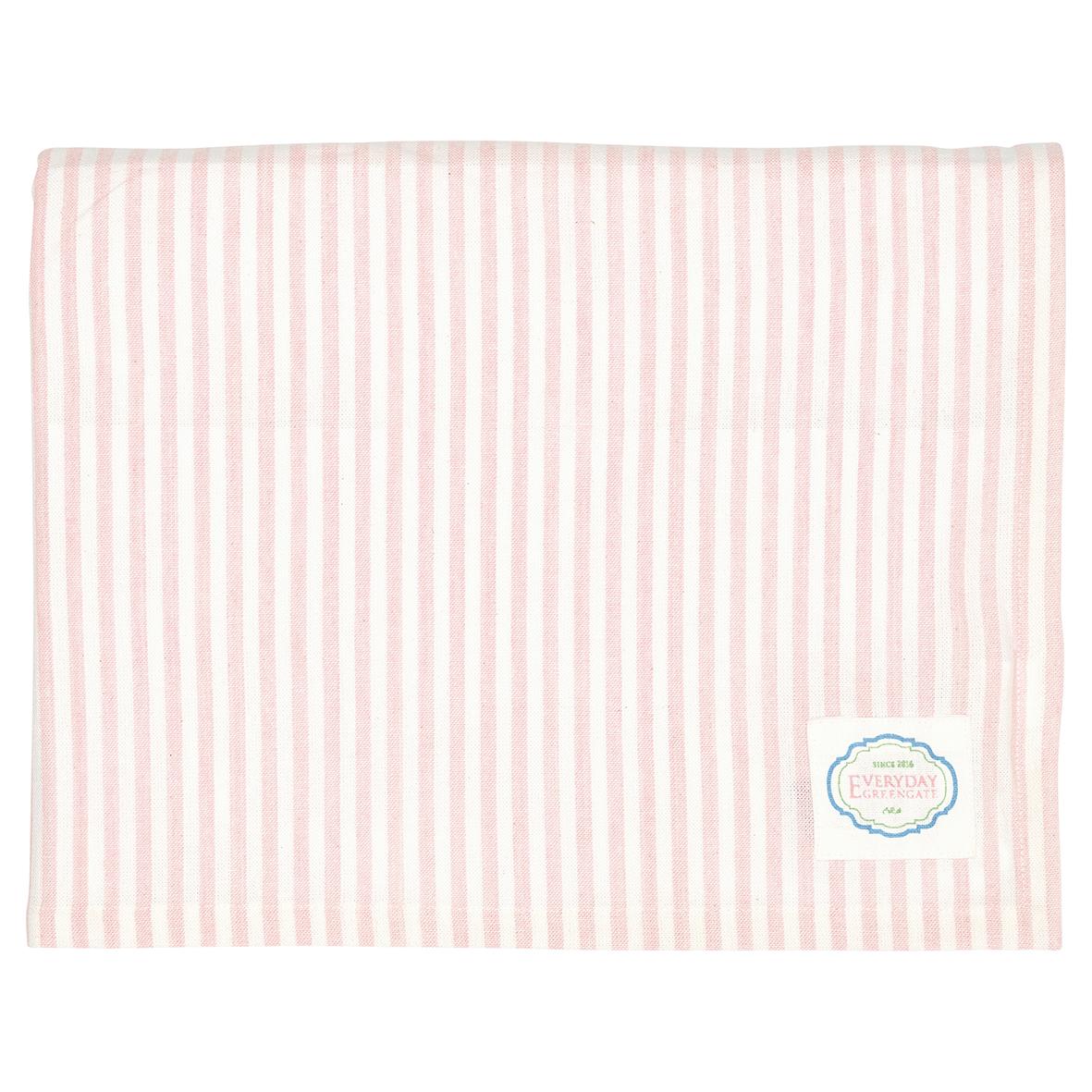 GreenGate Tischdecke Stripe Alice Pale Pink