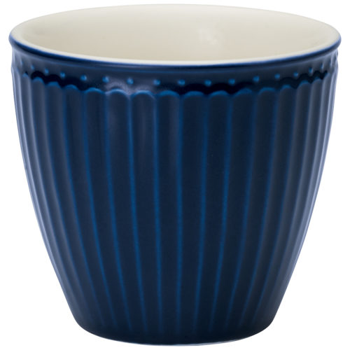 Greengate latte cup alice dark blue