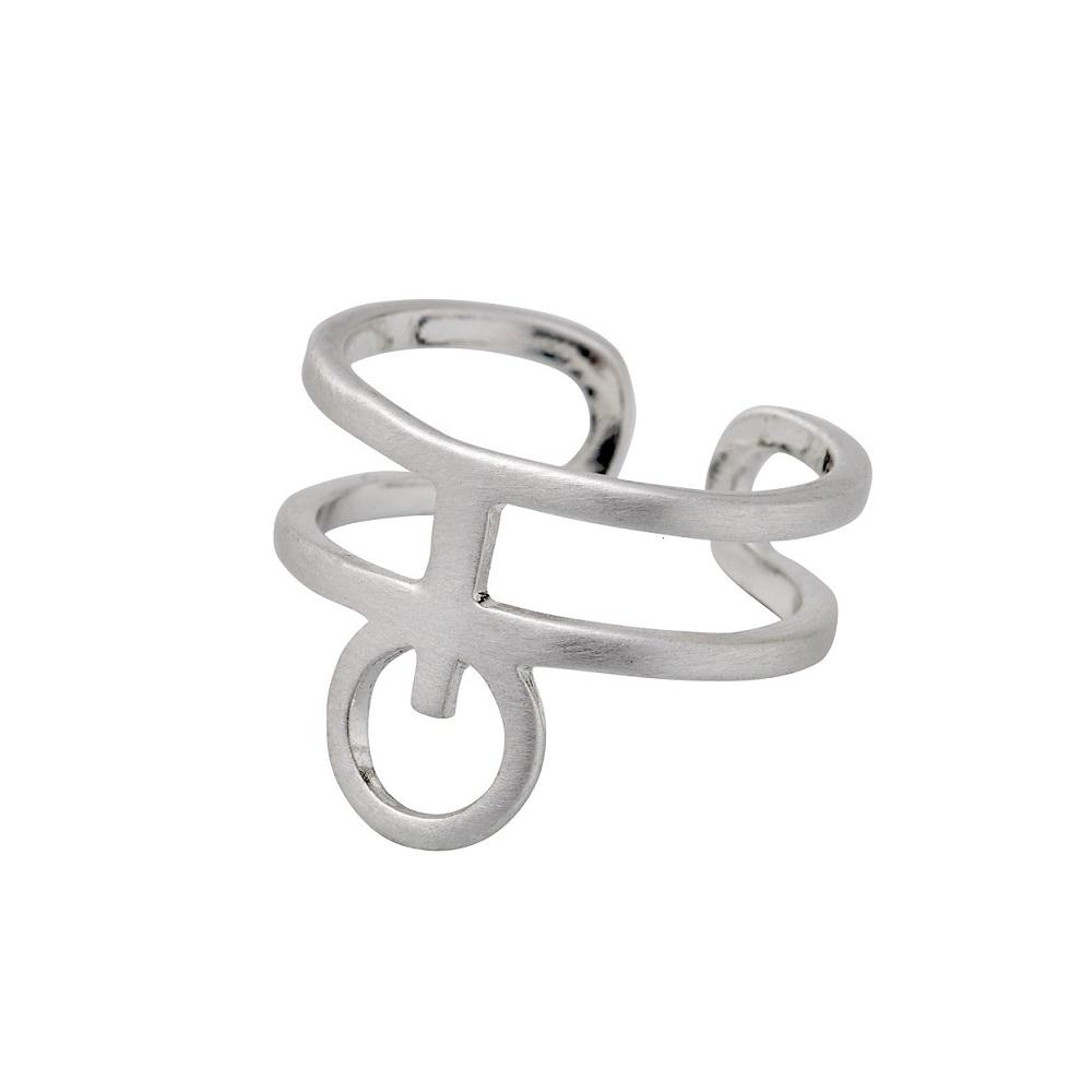 Pilgrim Ring Silber mit Kreis