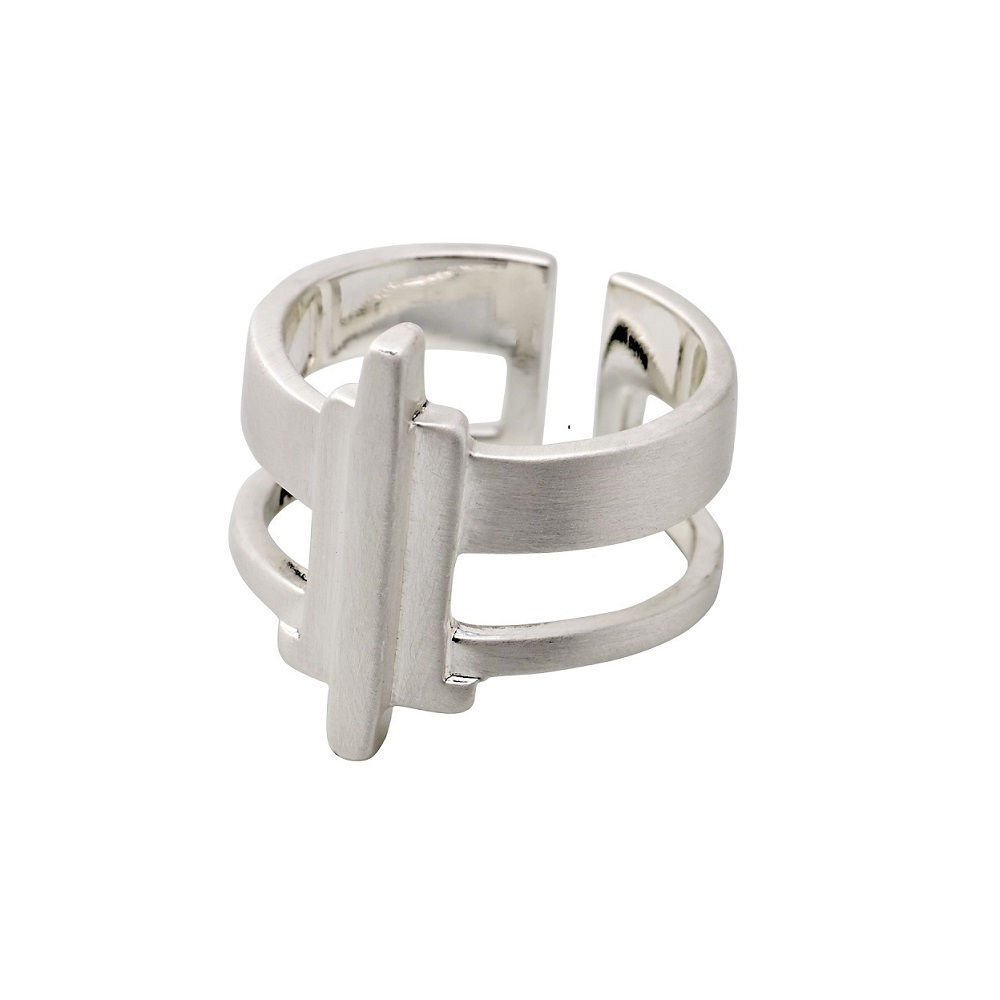 PILGRIM Ring Silber/Gold