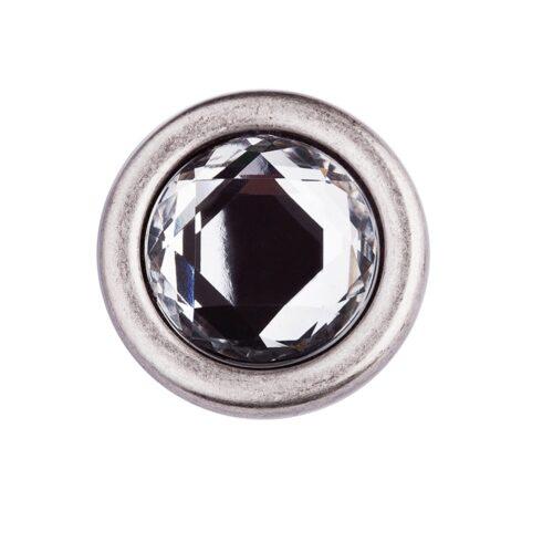 LUCA KAYZ Koppelschließe mit Kristall für Gürtel 2 cm
