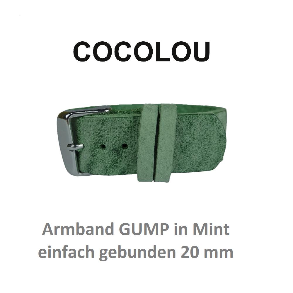 cocolou armband gump mint 2 cm