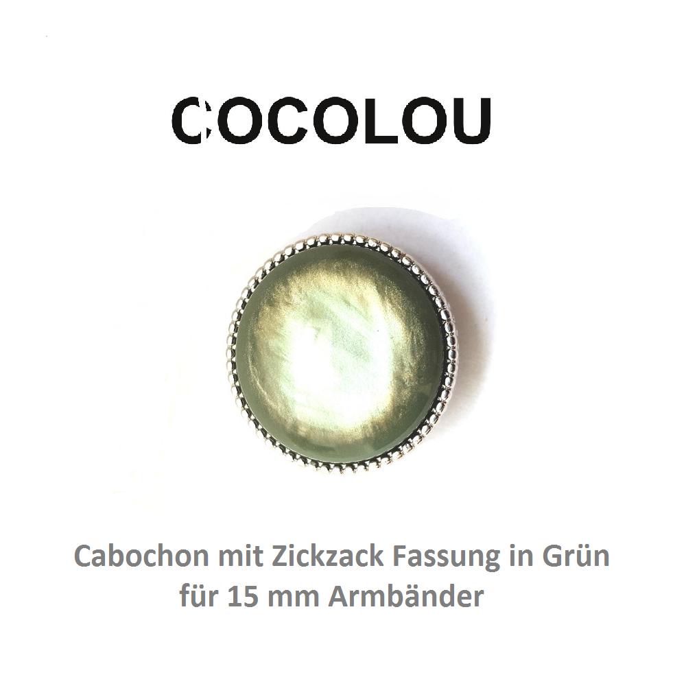 COCOLOU Cabochon Rund Grün