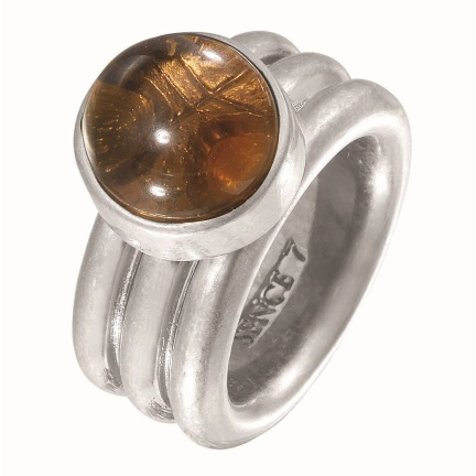 sence copenhagen ring smokey quarz H332