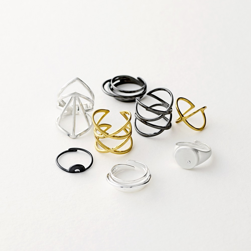 Pilgrim Ring Silber Glänzend