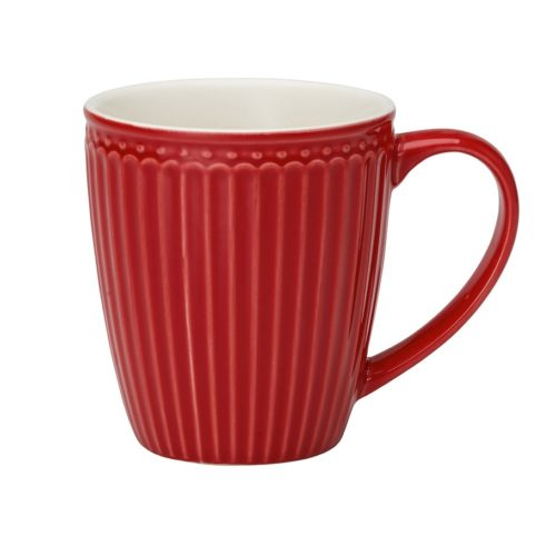 greengate kaffeebecher alice red