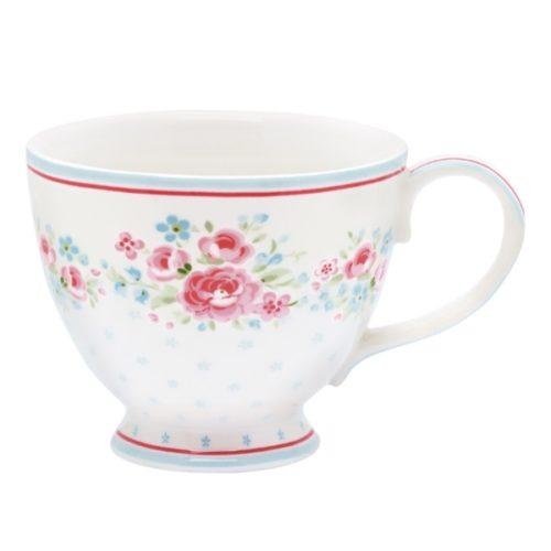 GreenGate Teetasse Tess White