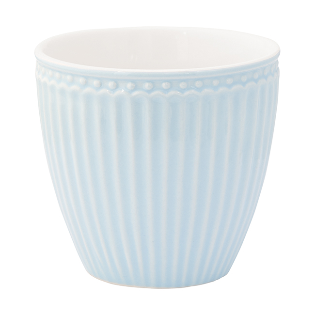 Greengate latte cup alice pale blue