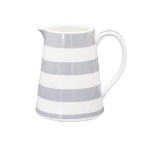 Krasilnikoff Milchkännchen Stripes Grey