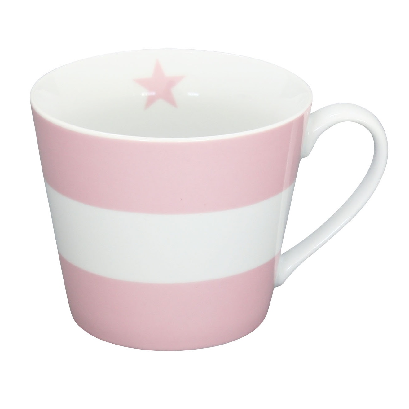 krasilnikoff happy cup tasse stripes pink