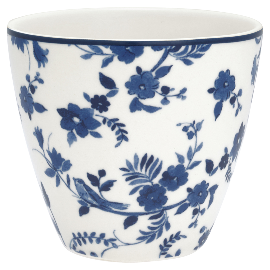 GreenGate Latte Cup Becher Vanessa Blue