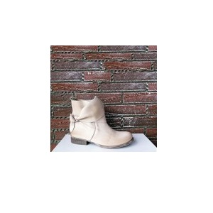 biondini sommerstiefelette in creme