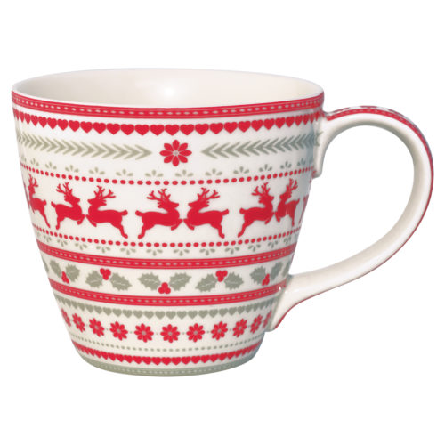 GreenGate Tasse Ivy White