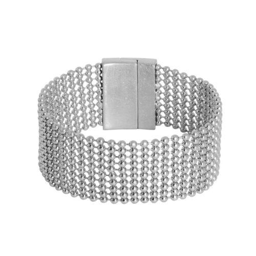 Sence Copenhagen Armband Silence in Silber K152