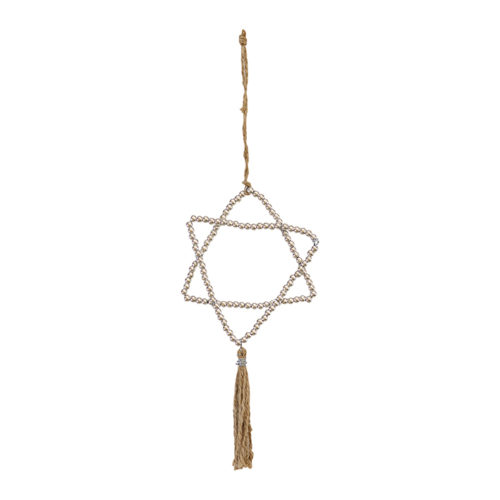 Greengate Metal Hanging Star Silver