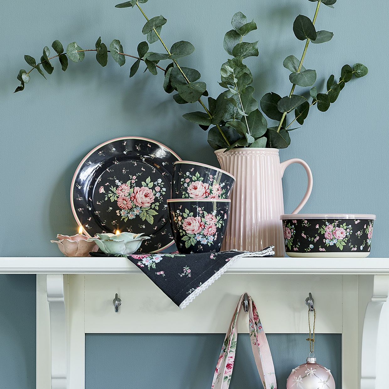 GreenGate Teetasse Marley Dark Grey