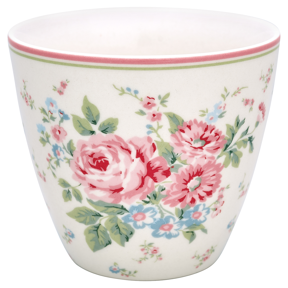 GreenGate Latte Cup Becher Marley White