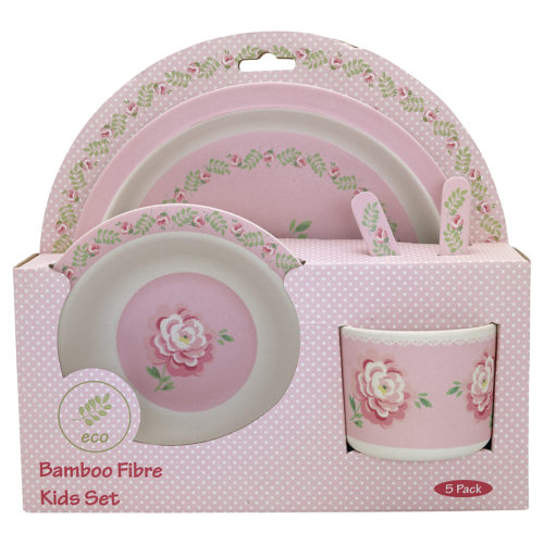 GreenGate Kinder Geschirr Lily Petit White (Set)