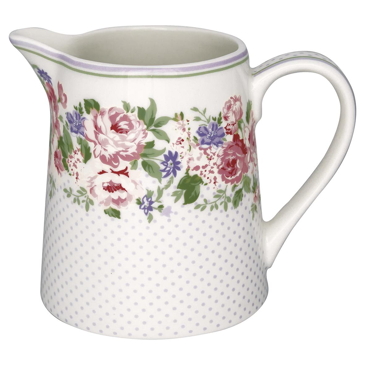 GreenGate Milchkännchen Rose White