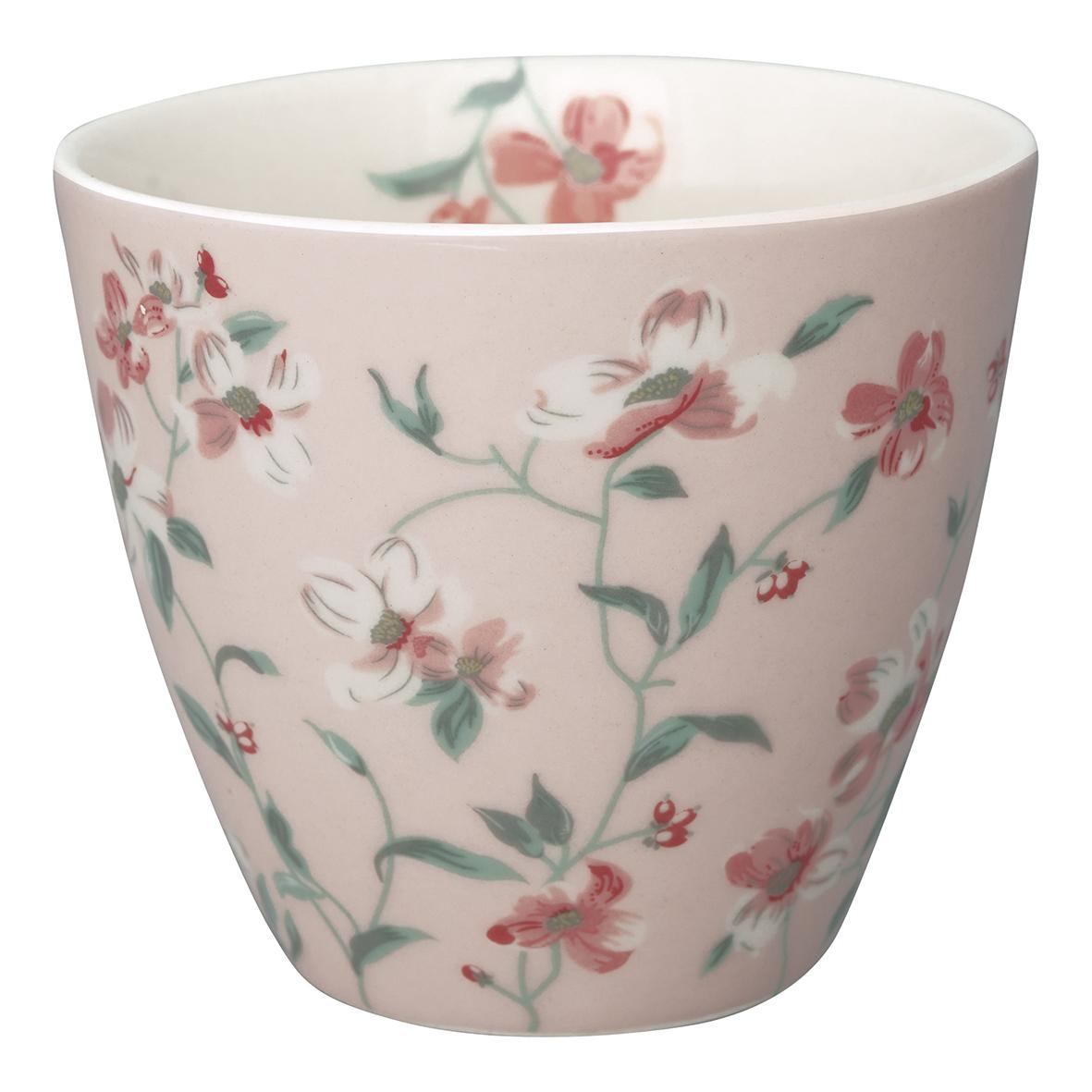 GreenGate Becher Latte Cup Jolie Pale Pink