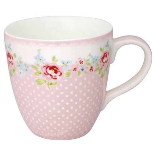 GreenGate Kinder Becher Tasse Meryl Pale Pink