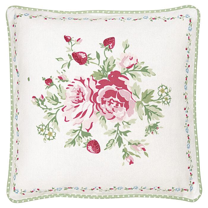 GreenGate Kissenbezug Mary White Piece Printed 40x40 cm