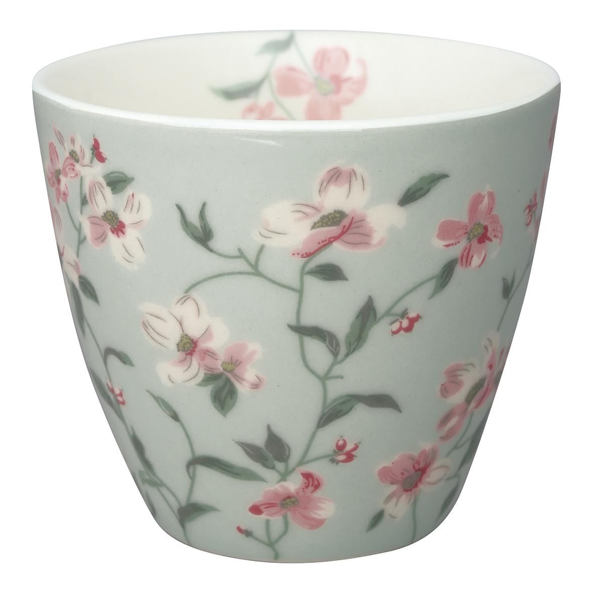 GreenGate Becher Latte Cup Jolie Pale Mint