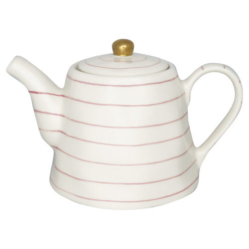 GreenGate Teekanne Sally Pale Pink with Gold