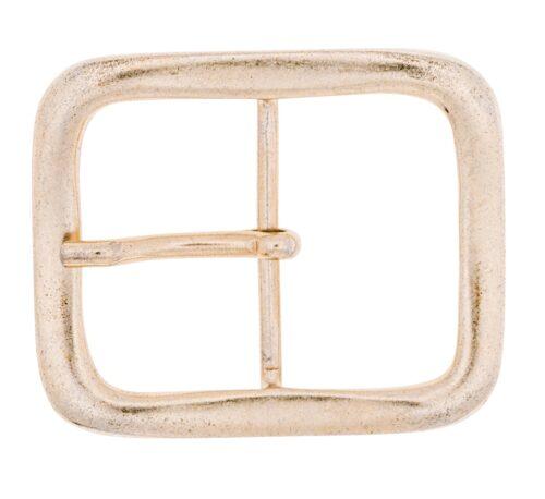 LUCA KAYZ Doppelschließe mattgold für Gürtel 4 cm