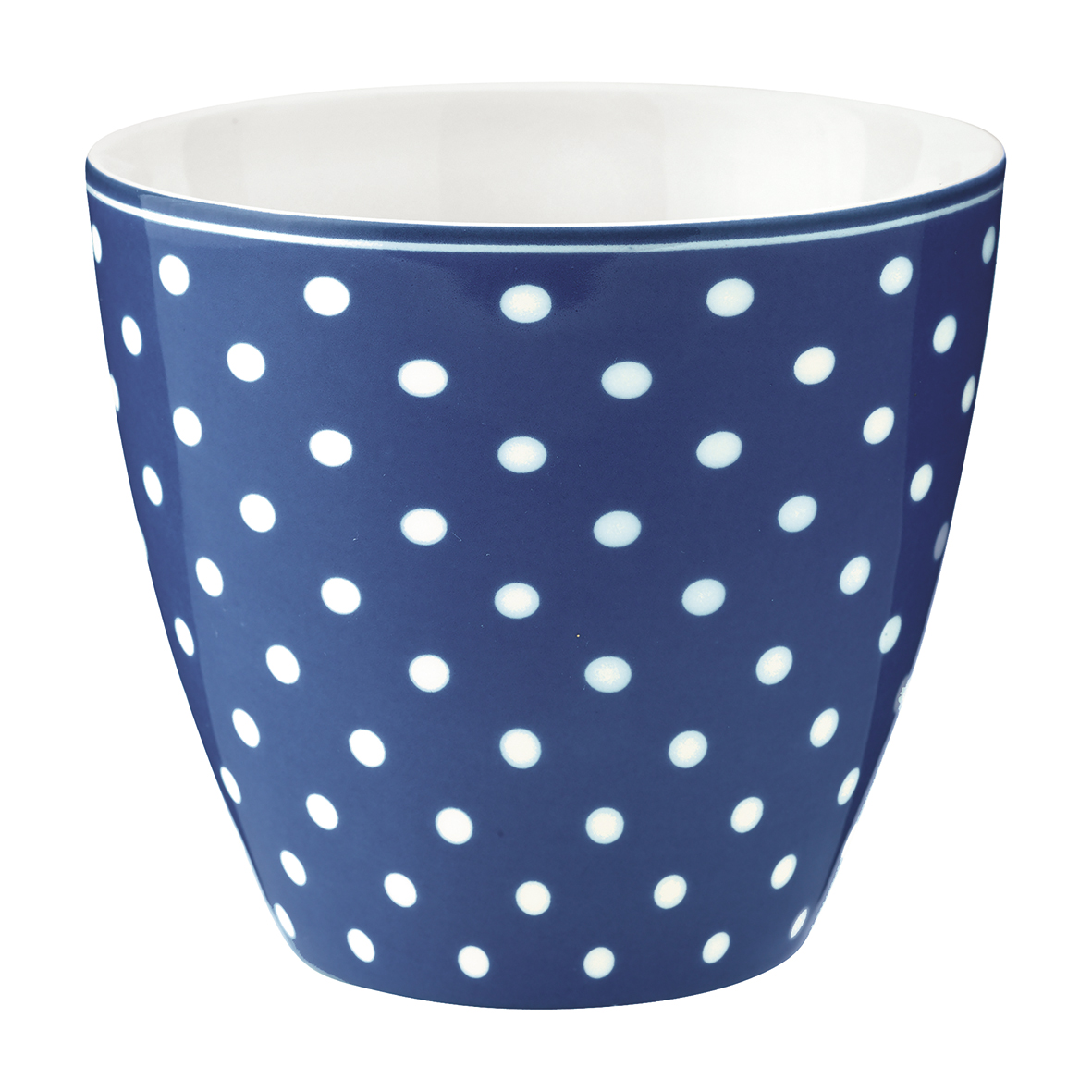 GreenGate Latte Cup Spot Blue