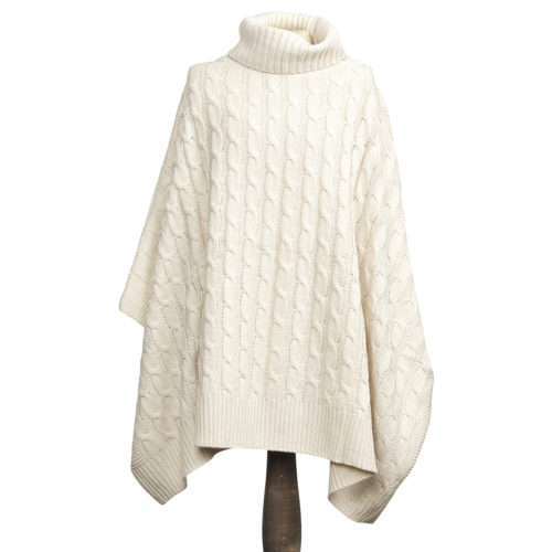 The Moshi Poncho Nora Off White