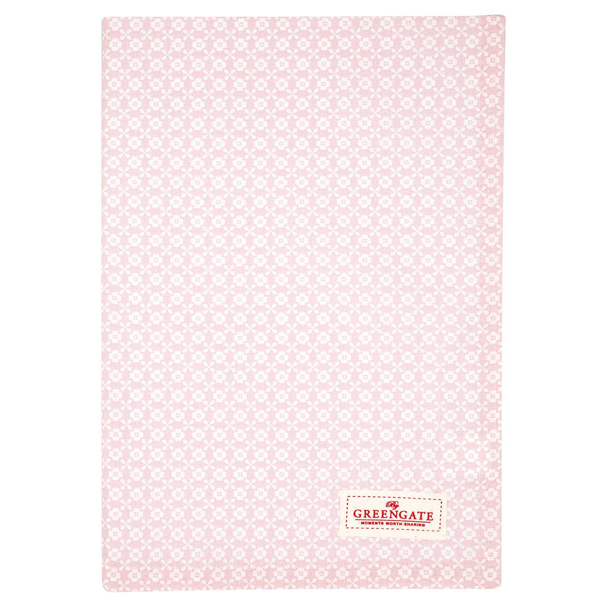 GreenGate Geschirrhandtuch Helle Pale Pink