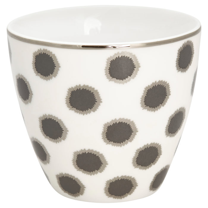 GreenGate Latte Cup Savannah White
