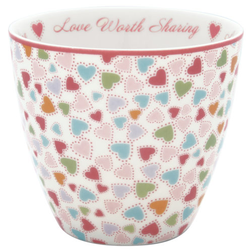 GreenGate Latte Cup Love Pastel Mix