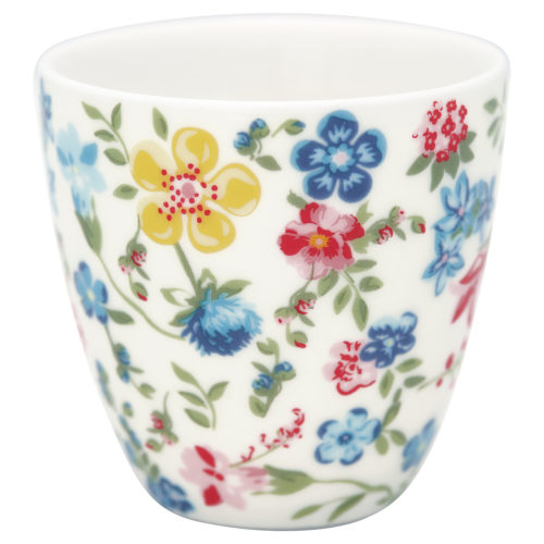 GreenGate Mini Latte Cup Sophia White
