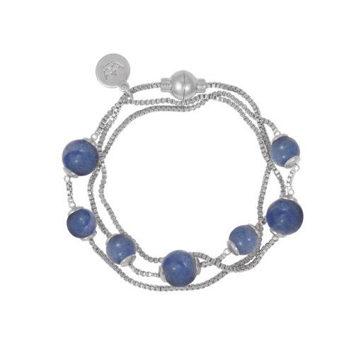 Sence Copenhagen Armband mit Blauem Quartz (Z549)