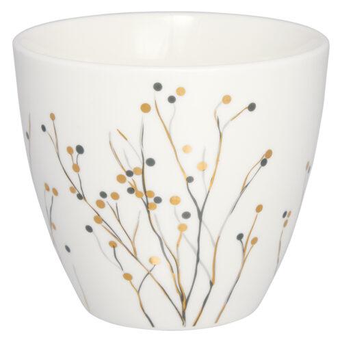 GreenGate Latte Cup Becher Antonia White